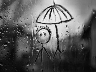 дождь депрессия